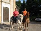 Cavalli e cavalieri  a Macciano